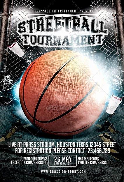 Free Basketball Flyer Template New Streetball tournament Flyer Template Lyer