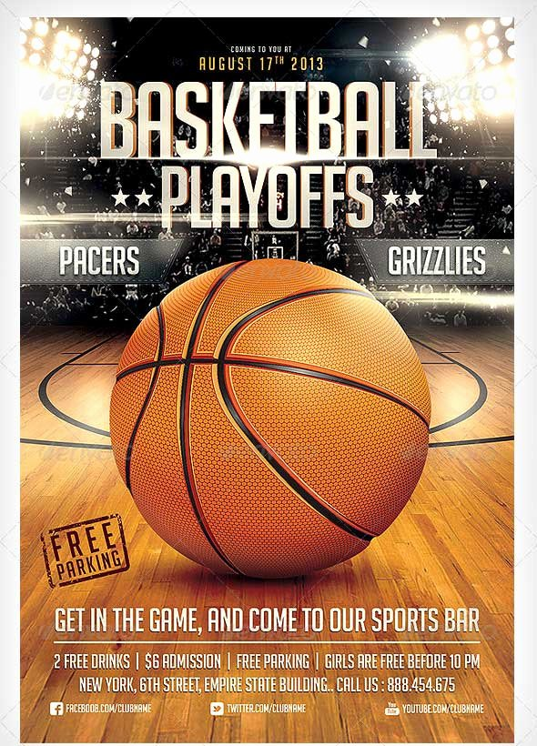 Free Basketball Flyer Template Unique 15 Basketball Flyer Templates Excel Pdf formats