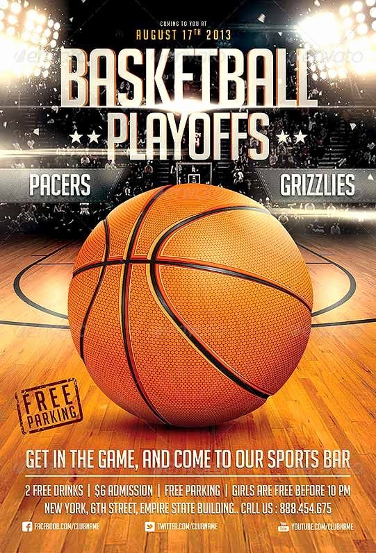 Free Basketball Flyer Template Unique Basketball Game Flyer Template Flyer Templates Best