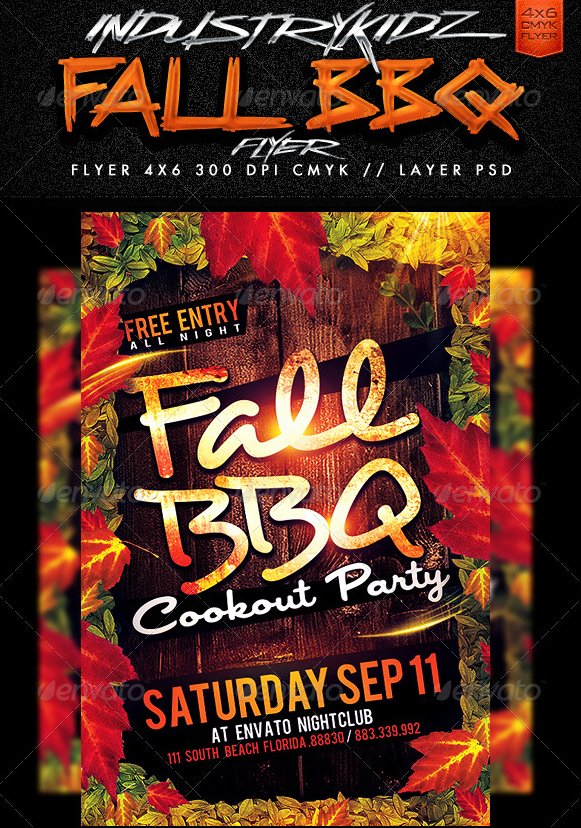 Free Bbq Flyer Template Beautiful 20 Free Barbeque Flyer Templates Demplates