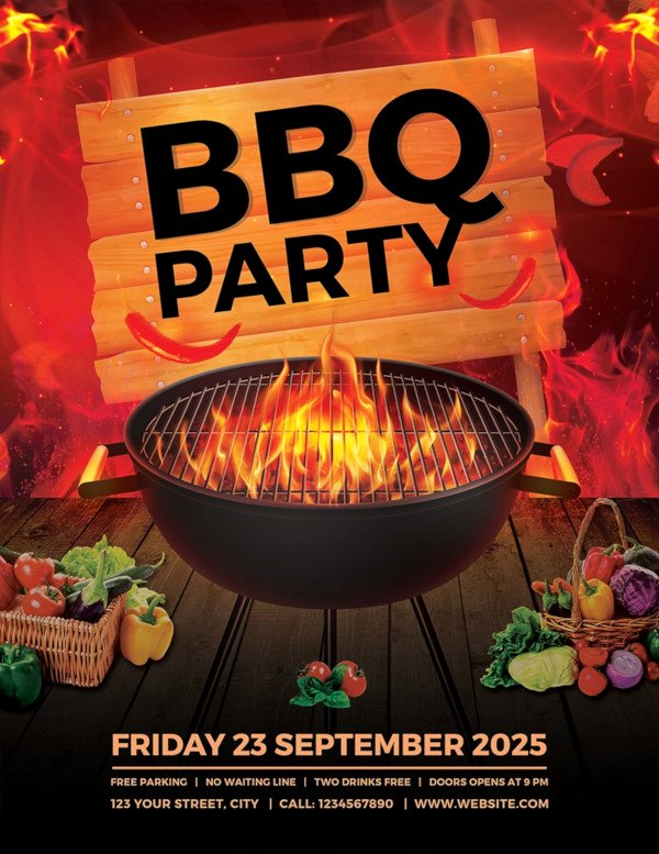 Free Bbq Flyer Template Best Of 25 Bbq Flyer Templates Psd Ai Word Eps Vector format