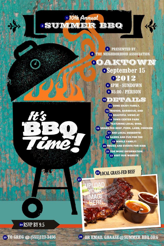 Free Bbq Flyer Template Inspirational 8 Best Of Bbq Tickets Template Chicken Bbq Ticket