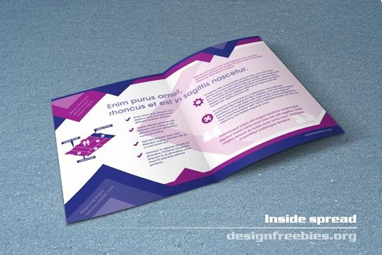 Free Bifold Brochure Template Beautiful Free Bifold Booklet Flyer Brochure Indesign Template No 1