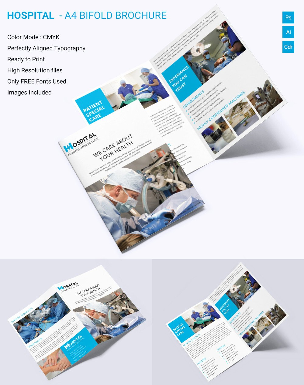 Free Bifold Brochure Template Elegant Medical Brochure Template – 39 Free Psd Ai Vector Eps