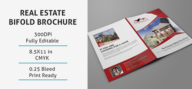 Free Bifold Brochure Template Elegant Real Estate Bifold Brochure