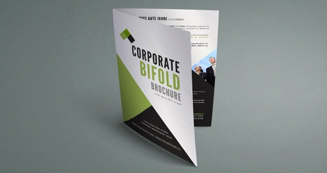 Free Bifold Brochure Template Fresh Corporate Bi Fold Brochure Template