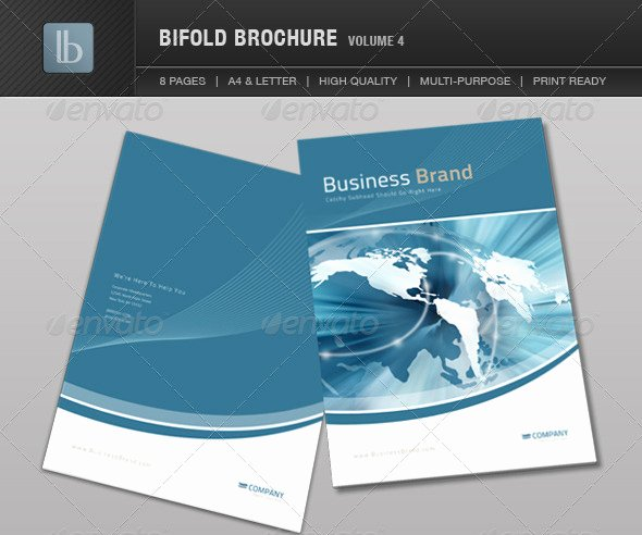 Free Bifold Brochure Template Lovely 10 4 Page Brochure Template Brochure Templates
