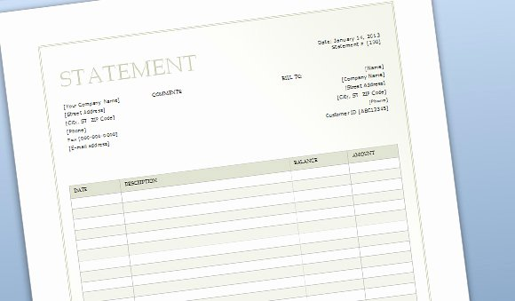 Free Billing Statement Template Awesome 17 Microsoft Logo Templates Free Microsoft Logo