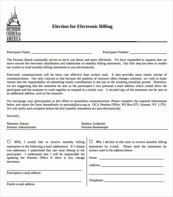 Free Billing Statement Template Unique 9 Sample Billing Statements
