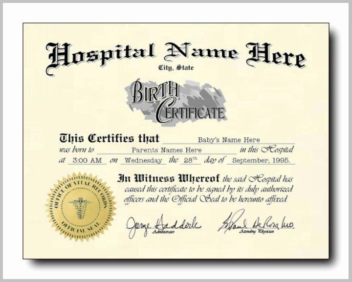 Free Birth Certificate Template New 16 Pet Birth Certificate Designs & Templates Pdf Psd