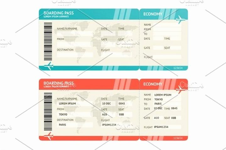 Free Boarding Pass Template Fresh 10 Travel Ticket Templates Psd Ai