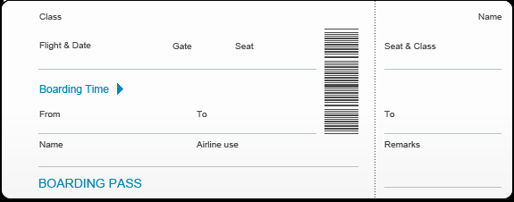 Free Boarding Pass Template Fresh Blank Boarding Pass Template Bing Images