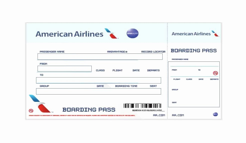 Free Boarding Pass Template Inspirational 16 Real & Fake Boarding Pass Templates Free