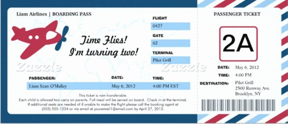 Free Boarding Pass Template Inspirational 41 Ticket Invitation Templates Psd Ai Word Pages