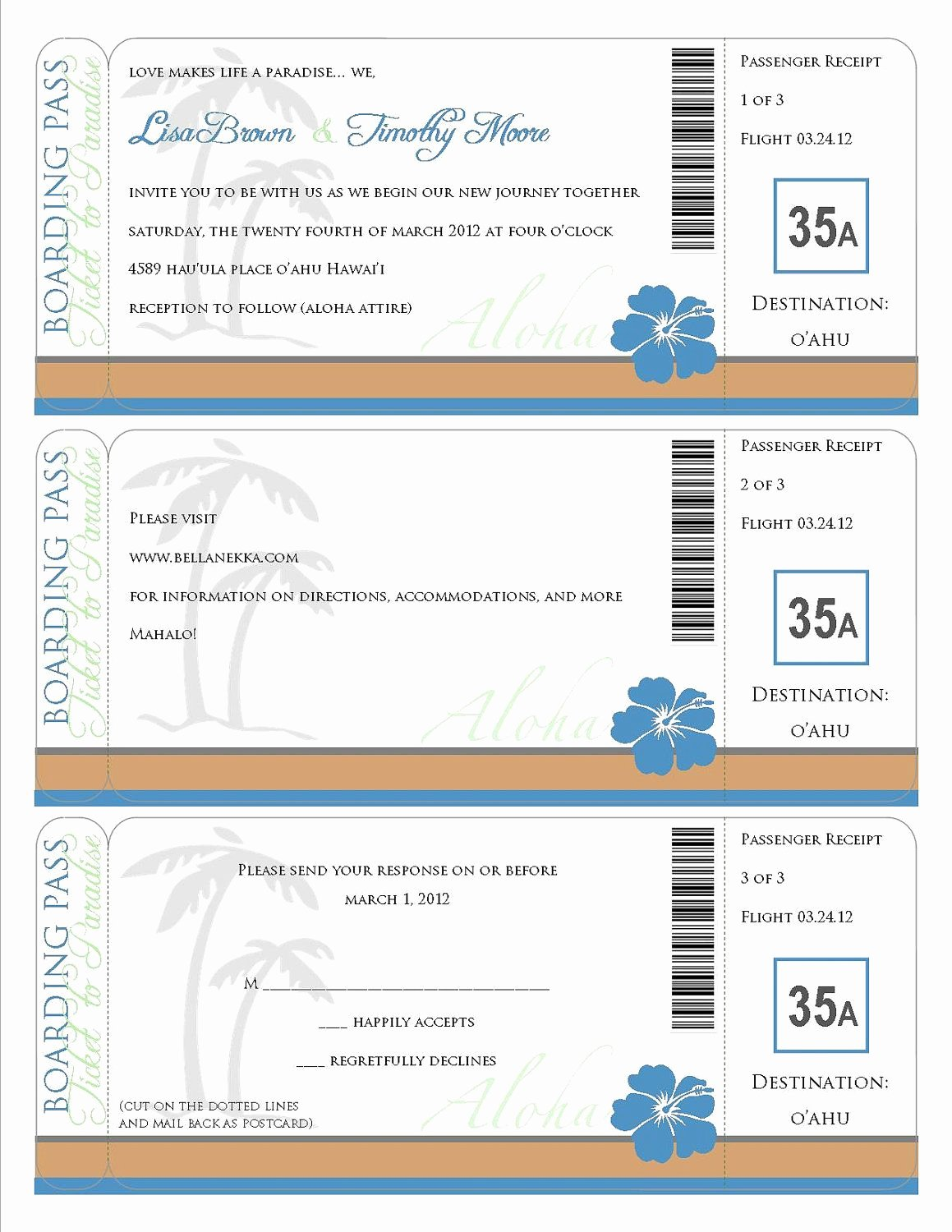 Free Boarding Pass Template Lovely Printable Boarding Pass Travel Information Invitation