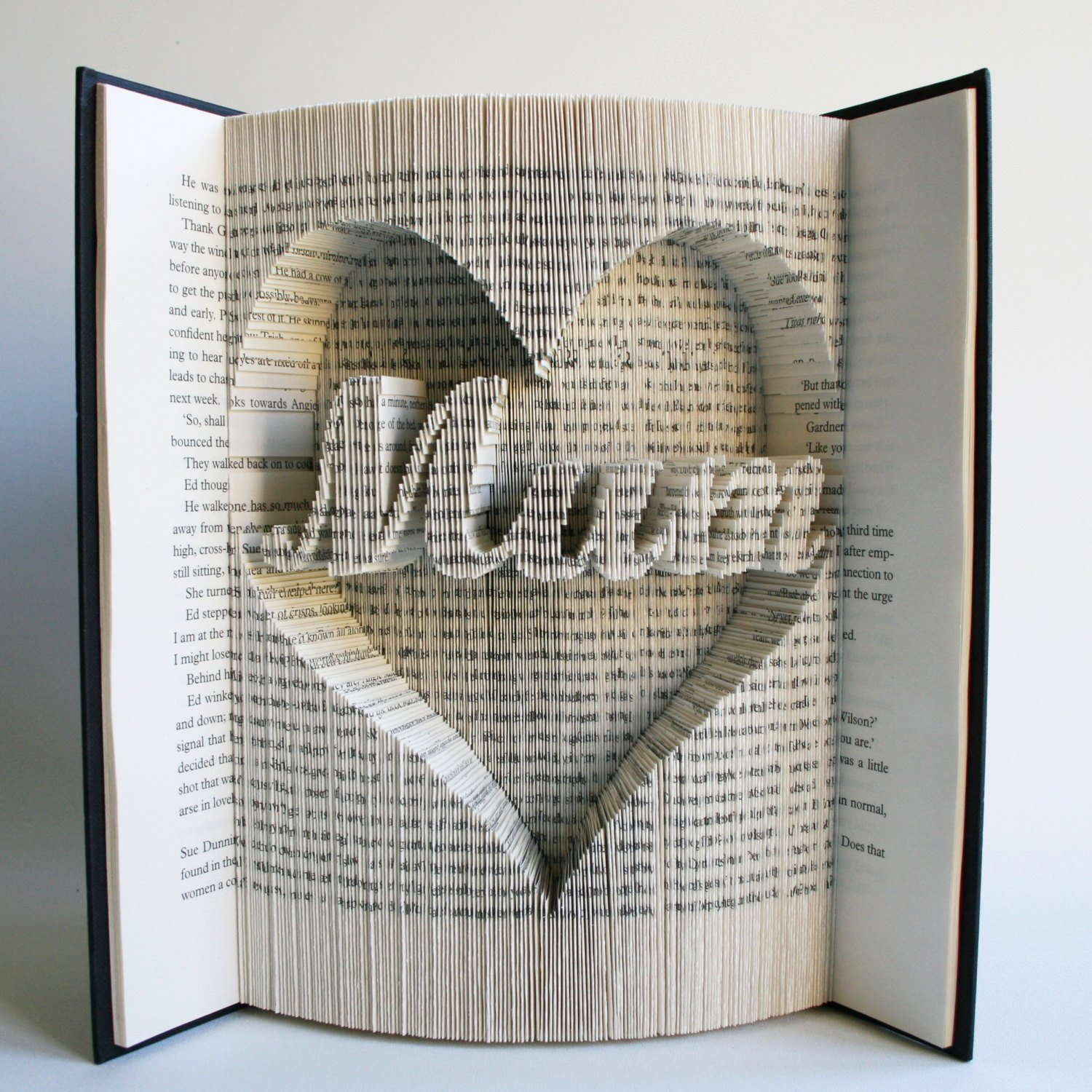 Free Book Folding Template Awesome Mum In Heart Mothers Day Book Folding Pattern with Cuts