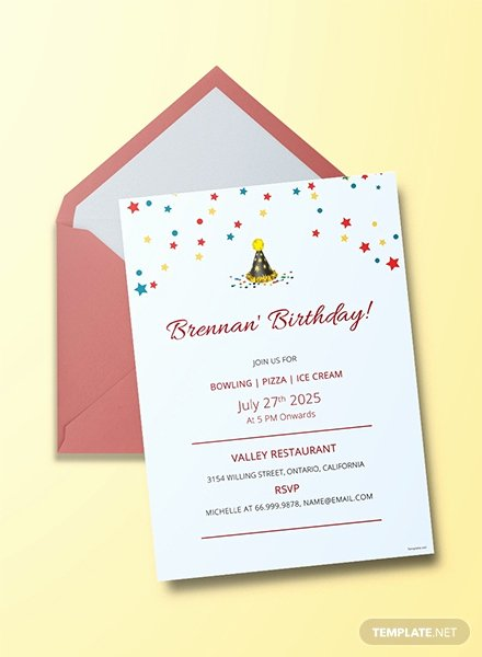 Free Bowling Invitations Template New Free Teddy Bear Picnic Birthday Invitation Template