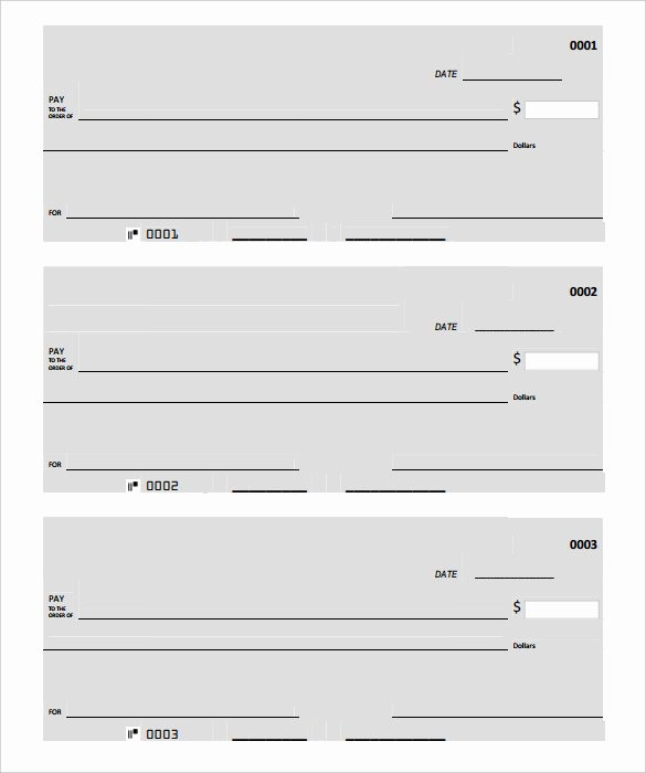Free Business Check Template Elegant Blank Check Template – 30 Free Word Psd Pdf & Vector