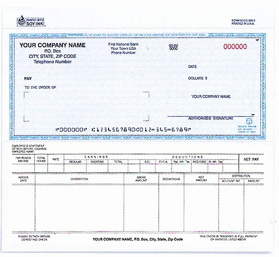 Free Business Check Template New 130 Snap A Part Payroll Disbursement Voucher Check