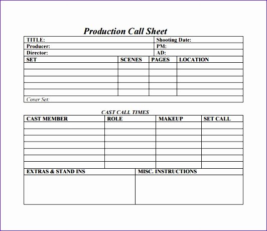 Free Call Sheet Template Inspirational 14 Sales Call Log Template Excel Exceltemplates