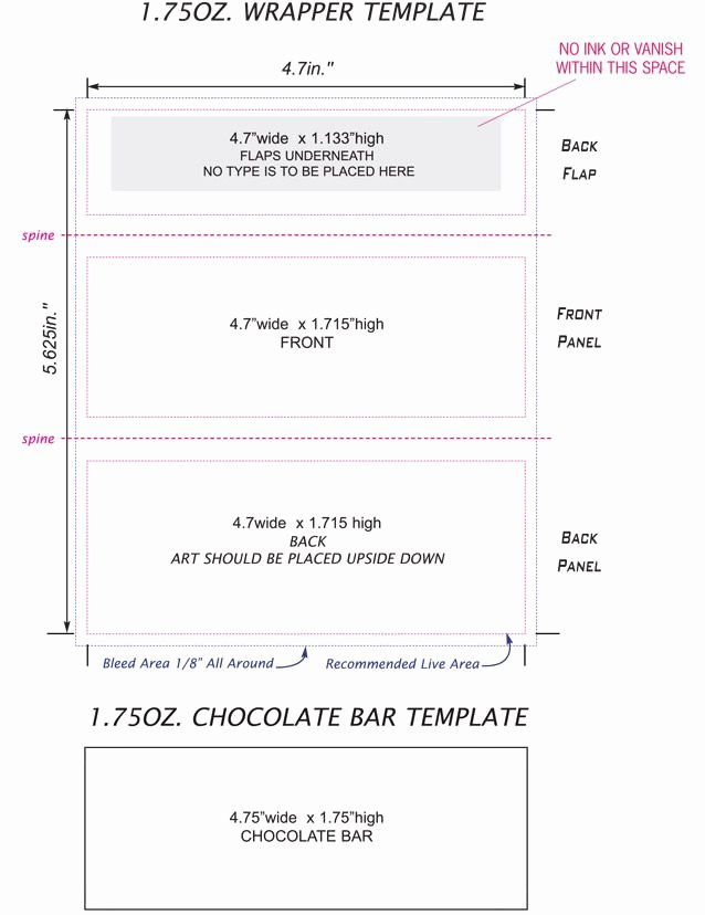 Free Candy Wrapper Template Unique Free Candy Bar Wrapper Template Ednteeza Steve