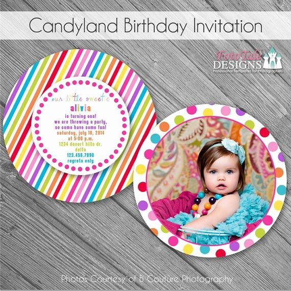 Free Candyland Invitation Template Best Of Sale Instant Download Candyland Birthday Invitation