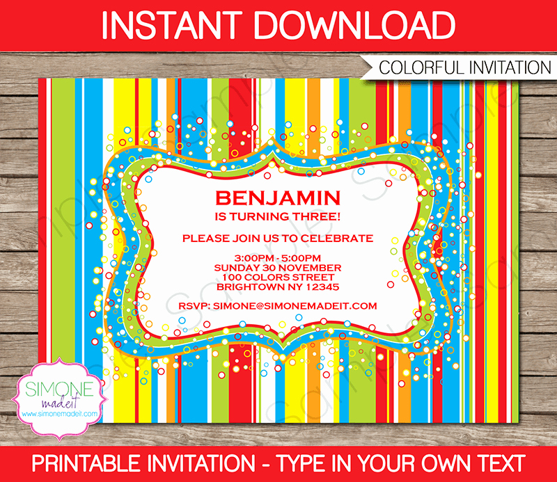Free Candyland Invitation Template Lovely Sweet Shoppe Party Invitations
