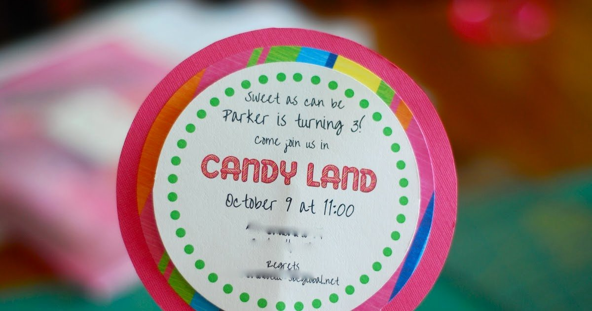 Free Candyland Invitation Template Unique Better Than I Could Have Imagined How to Make Lollipop