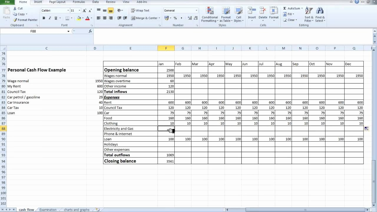 Free Cash Flow Template Lovely Free Spreadsheet Cash Flow Samplebusinessresume