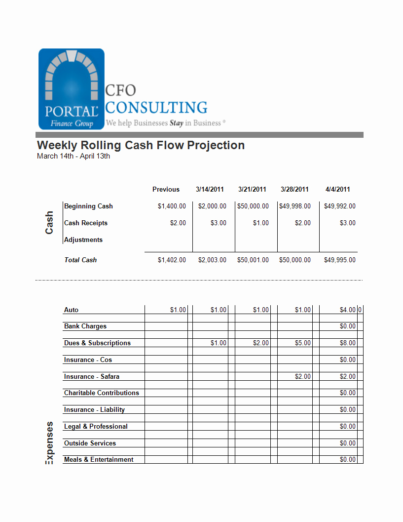 Free Cash Flow Template Unique Beaufiful Cash Flow Projection Template Cash Flow
