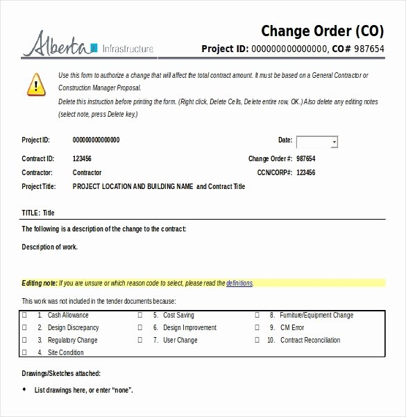 Free Change order Template Inspirational 11 Microsoft Word 2010 Free order Templates Download