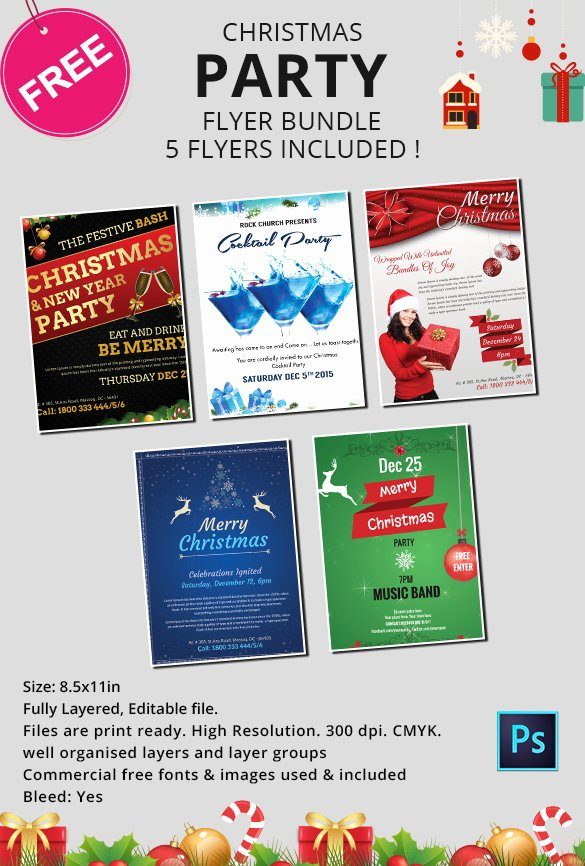 Free Christmas Poster Template Best Of 60 Christmas Flyer Templates Free Psd Ai Illustrator