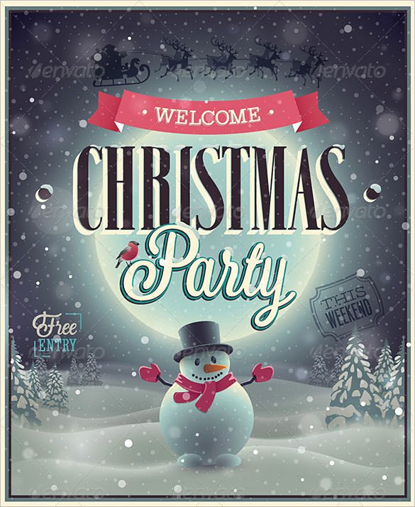 Free Christmas Poster Template Elegant 75 Christmas Poster Templates Free Psd Eps Png Ai