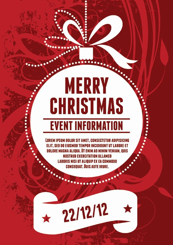 Free Christmas Poster Template New 15 Free A4 Poster Designs