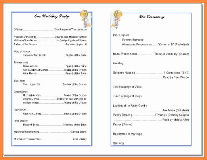 Free Church Program Template New Free Printable Church Program Template Invitation Template