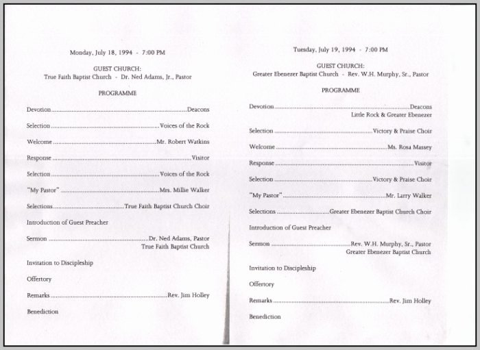 Free Church Program Template Unique Choir Anniversary Program Template Template Resume