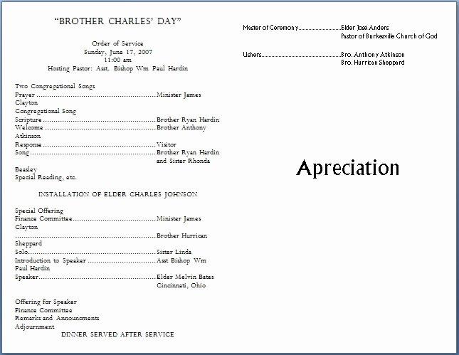 Free Church Programs Template Beautiful Church Bulletin Templates