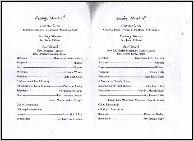 Free Church Programs Template Luxury Choir Anniversary Program Template Template Resume