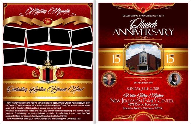 Free Church Programs Template Unique Powerful Church Anniversary Program