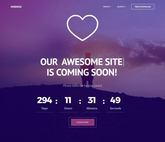 Free Coming soon Template Beautiful 50 Free Ing soon Under Construction HTML Website Templates