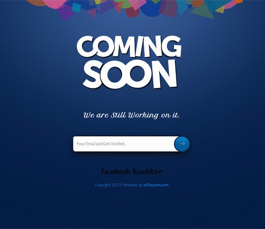 Free Coming soon Template Beautiful 72 Best Ing soon & Under Construction HTML Templates