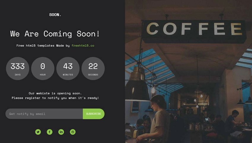 Free Coming soon Template Best Of 50 Free Ing soon Under Construction HTML Templates