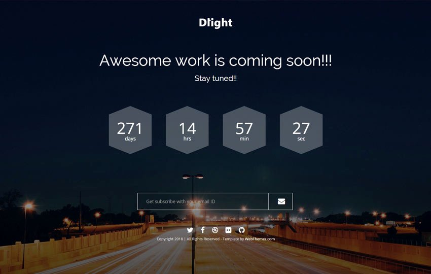 Free Coming soon Template Best Of Free Ing soon Bootstrap Template Webthemez