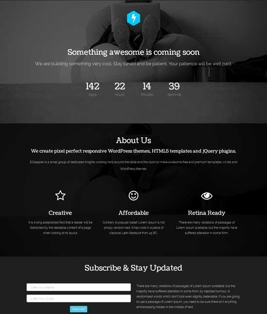 Free Coming soon Template Inspirational 40 Free HTML Ing soon Maintenance Under