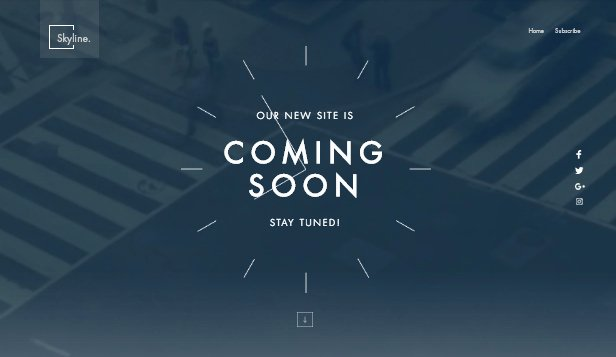 Free Coming soon Template Luxury Ing soon Website Templates Landing Pages