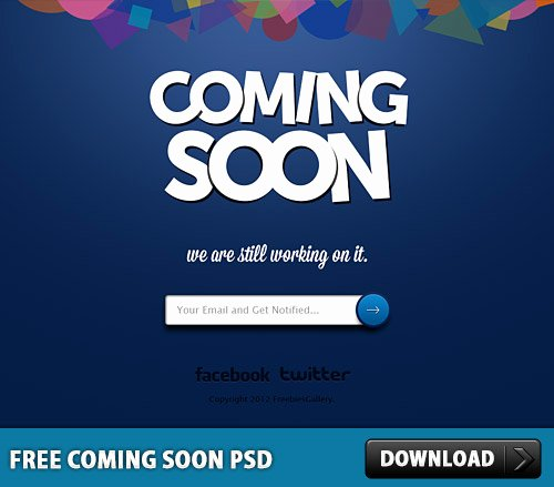 Free Coming soon Template Unique Free Ing soon Psd Download Psd