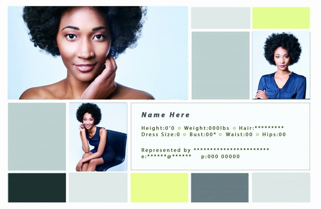 Free Comp Card Template Beautiful Free Headshot Business Card Templates Real Estate Business