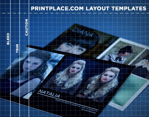 Free Comp Card Template Beautiful P Cards Templates Free Download