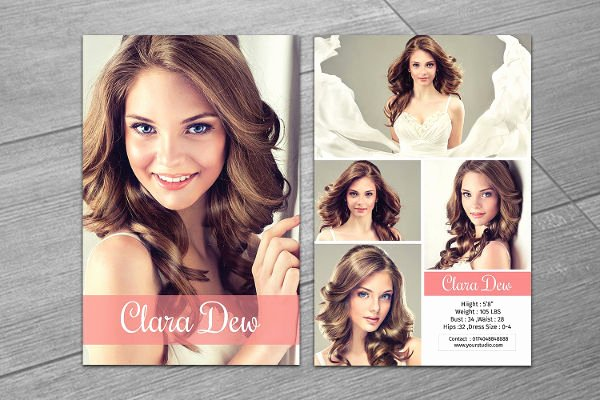 Free Comp Card Template Fresh 8 P Card Templates Free Sample Example format