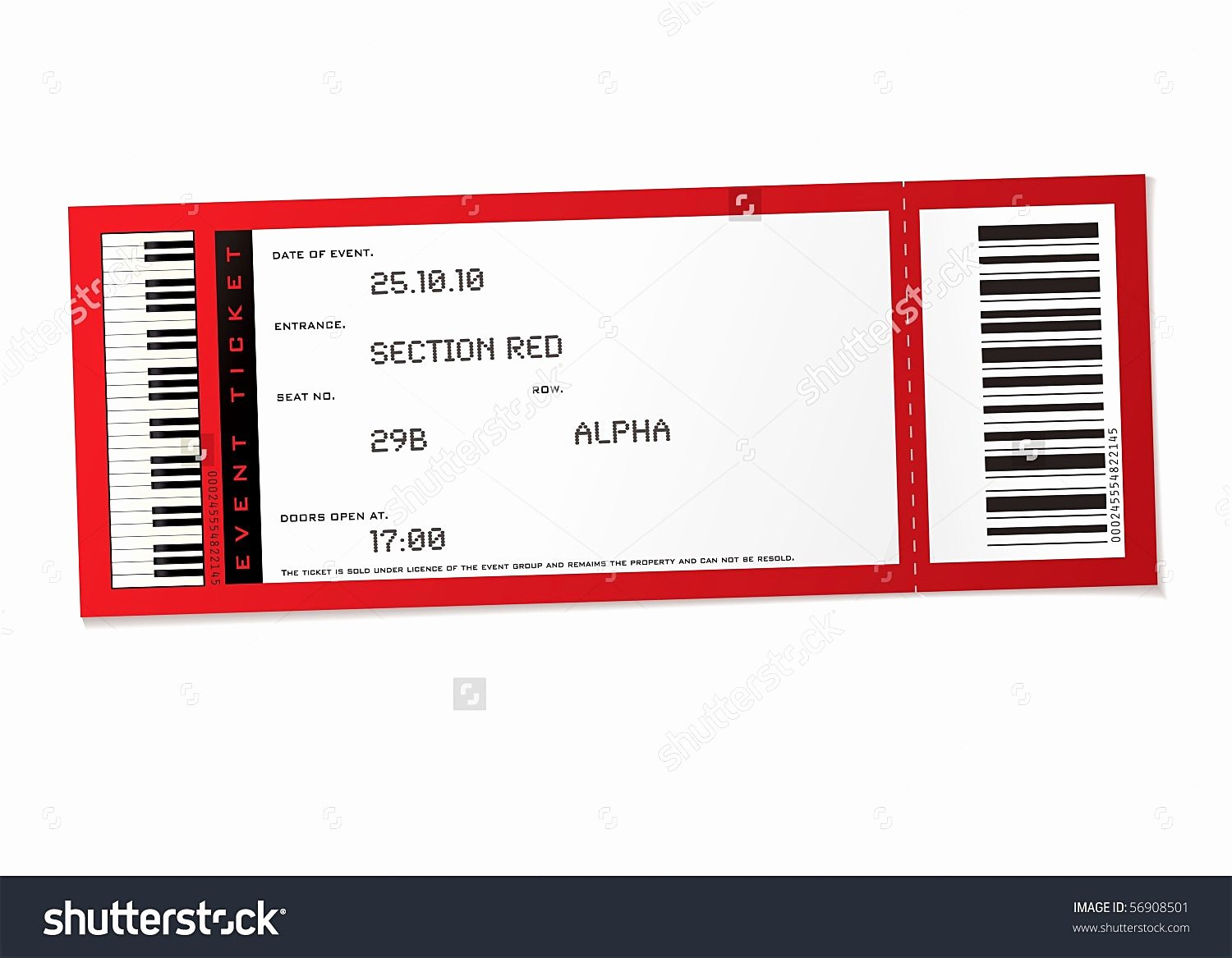 Free Concert Ticket Template Awesome event Ticket Template Example Mughals